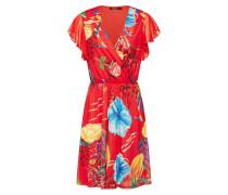 Kleid 'Vest_Miranda' mischfarben / rot