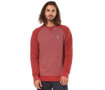 Sweatshirt 'Piston Crew' rot
