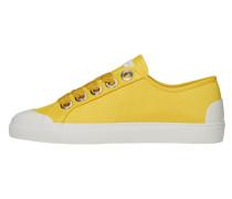 Sneaker gelb / weiß