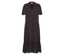 Kleid 'woven Dress - Maxi' schwarz