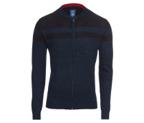 Strickjacke 'structured zip jacket Cardigan 1/1'