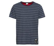 T-Shirt himmelblau / dunkelblau
