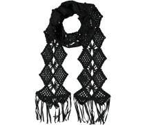Häkel-Schal schwarz