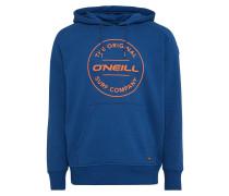 Sweatshirt 'LM Type Hoodie' dunkelblau