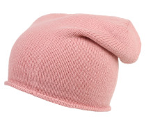 Strickmütze rosa