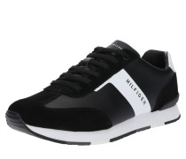 Sneaker 'Leather Material Mix Runner'