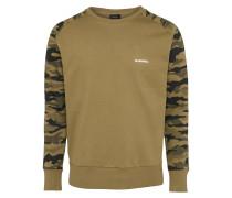 Sweatshirt mit Camouflage-Muster 'Casey'
