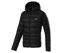 Daunenjacke 'pwrwarm X packLITE 600' schwarz