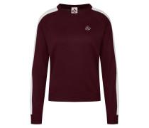 Sweatshirt 'Anni Knit' creme / bordeaux