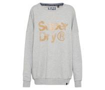 Sweatshirt 'sparkle Skater Crew' hellgrau