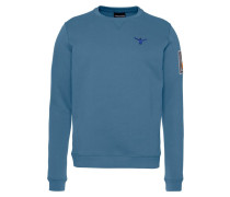 Sweatshirt taubenblau