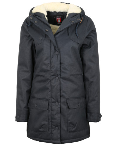 'Isola' Wintermantel navy