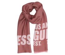 Tuch 'Bobbi 53X180' braun / rosa