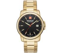 Uhr gold / schwarz
