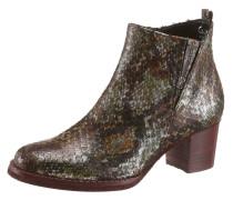Ankle-Boots braun / khaki