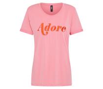 T-Shirt 'adore' pink