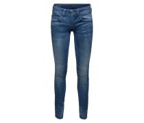 Skinny Jeans mit Used Waschung 'Lynn'