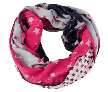 Loop grau / pink / schwarz