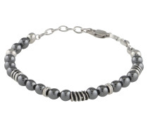 Armband 'Bead Bracelet' silbergrau