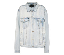 Jeans Jacke 'caroline Stud' blue denim