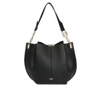 Handtasche 'derly' schwarz