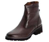 Schuhe aus Glattleder dunkelbraun