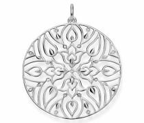 Kettenanhänger 'Mandala-Ornamentik D_Pe0003-725-21'