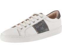 Sneakers 'Coralie' rauchgrau / weiß