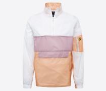Jacke 'Overhead Jacket' weiß / beige