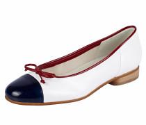 Ballerina navy / rot / weiß
