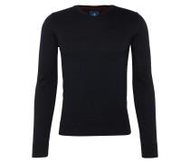 Pullover 'basic v-neck sweater' navy