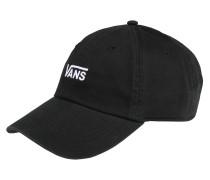 Cap 'court Side' schwarz / weiß