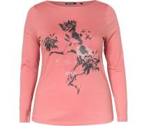 Shirt rosa / schwarz / weiß