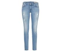 'Gracey' Skinny Jeans 0688E blue denim