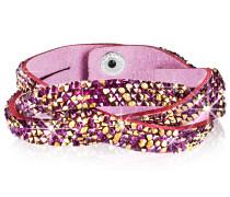 Armband gold / lila / pink