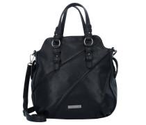 Handtasche 'Jutta' 25 cm schwarz