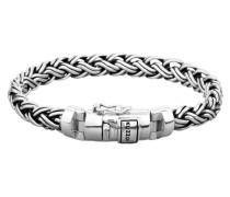 Armband 'Twisted' silber