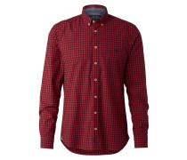 Hemd nachtblau / rot