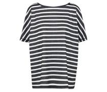 Shirt 'adala' schwarz / weiß