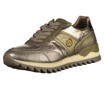 Sneaker gold / taupe