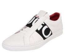 Sneaker Low 'Post Futurism' schwarz / weiß