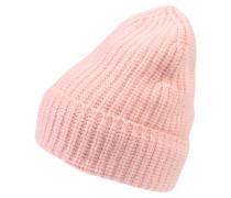 Cashmere Beanie 'Nuria' pink / rosa