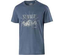'Keystone' T-Shirt blau