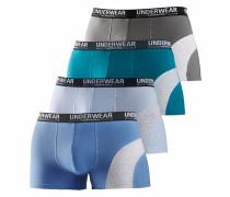 Boxer blau / navy / grau / petrol
