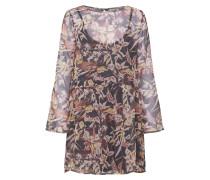 Kleid flieder / mischfarben