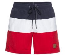 Swimshorts blau / rot / weiß