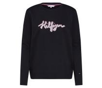 Sweatshirt 'haley C-Nk' schwarz