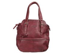 Handtasche 'Hayden' in Used-Optik bordeaux