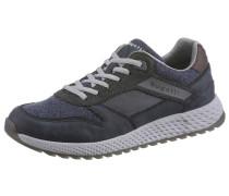 Sneaker marine / greige / graumeliert