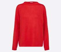 Sweatshirt 'Cilia' rot